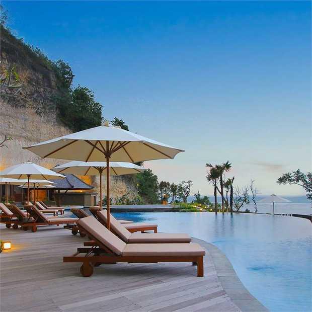 Soak up the warm Balinese sun with a lavish stay at Ulu Segara Luxury Suites & Villas, Nusa Dua's...