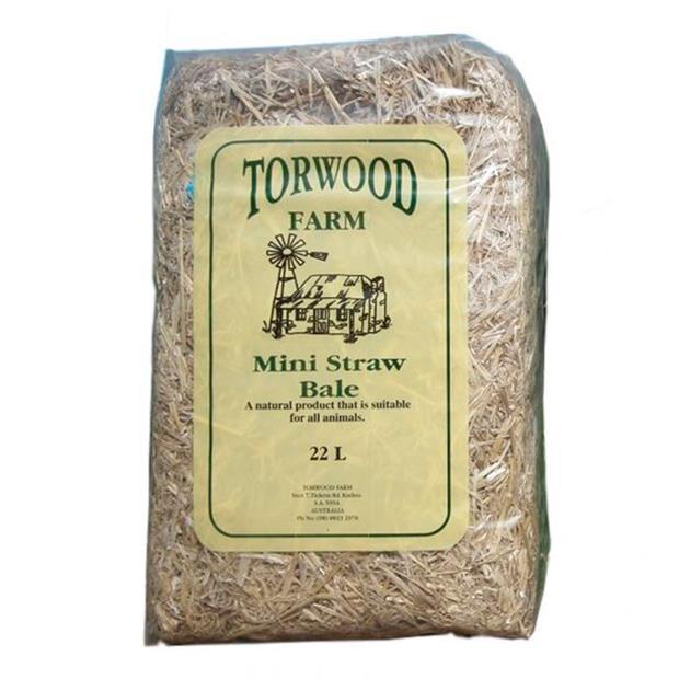 torwood farms mini straw bale  22L | Torwood | pet supplies| Product Information:...