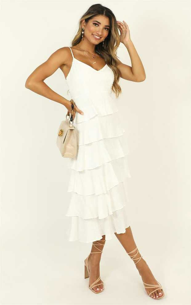 You'll love the Nothing But Hope Dress! This gorgeous midi dress features a midi length and a...