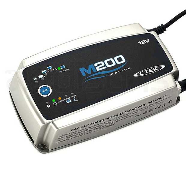 The M200 battery Charger is the perfect solution for those who need to charge large 12V-batteries. The...