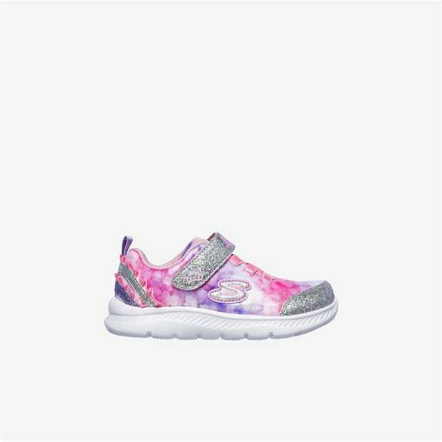 Sprinkle a little magic into her look with fun frilly touches in the SKECHERS Comfy Flex 2.0 shoe. Soft...