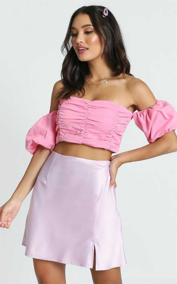 This is the sweetest little crop top you can find. Our Zariah Crop Top is the perfect piece for those...