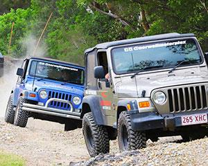 The 4x4 Jeep Experience at Norwell Motorplex on the Gold Coast puts you behind the wheel in a car...