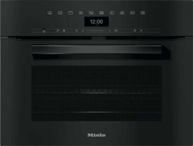Prepare roast meals, grill meat and vegetables, or gently defrost frozen food with the Miele H 7440 BM...