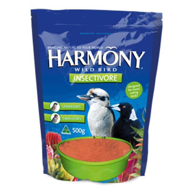 harmony insectivore wild bird mix  500g | Harmony food | pet supplies| Product Information:...