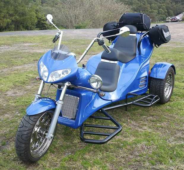 2008 learner legal,   bike licence req.   Piaggio 460 motor,   economical to...