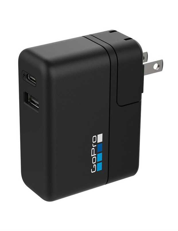 27.5W charger Charges up to two GoPro devices at once Fast-charge compatible GoPro devices up to 70%...