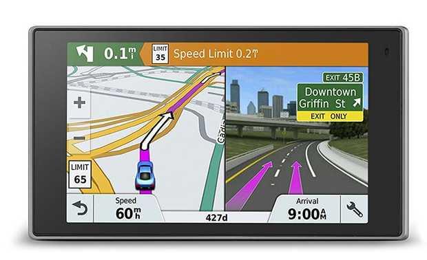 "Premium 5"" capacitive touch GPS navigator Elegant metal design Secure magnetic mount Bluetooth® calling..."