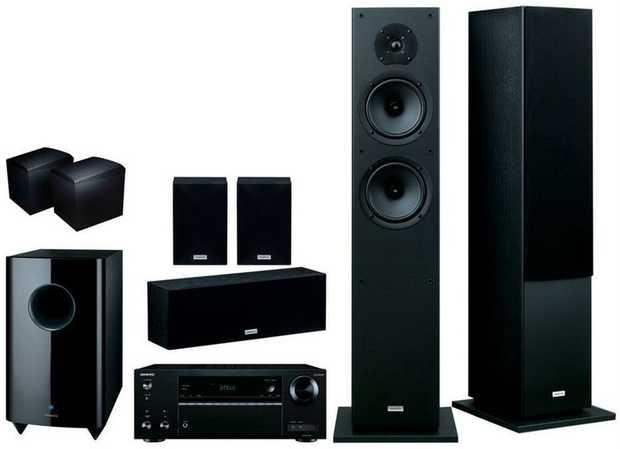TX-NR555 AV Reciever SKF-4800 2-Way Bass Reflex Front Speakers (Pair) SKC-4800 2-Way Bass Reflex Centre...