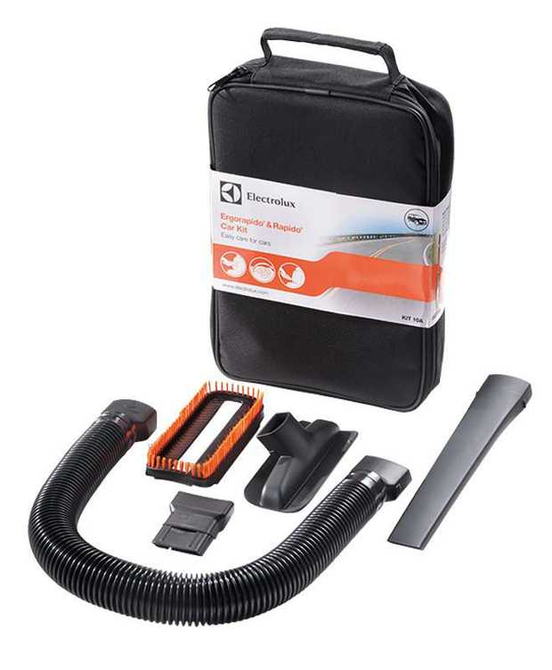 Features a hose, crevice tool, pet nozzle, snap on bristle brush & adapter in a storage case Perfect...