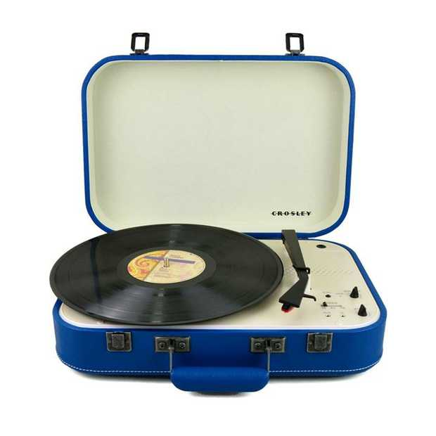 """Plays 7"""", 10"""" & 12"""" records Bluetooth (in) Adjustable Pitch control Belt Driven Turntable Mechanism..."""