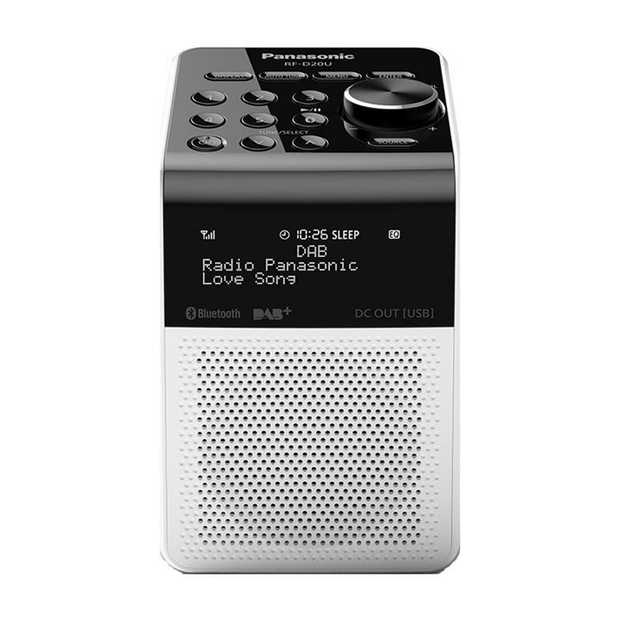 2W Power Output (RMS) DAB, FM and Bluetooth® Compatible IPX3 Splashproof / AA Battery Option 5 User...