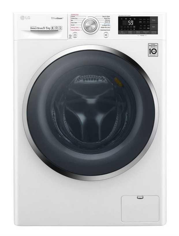 14 Wash Programs 1400rpm Maximum Spin Speed TrueSteam® LG SmartThinQ Direct Drive Motor 6 Motion Wash...