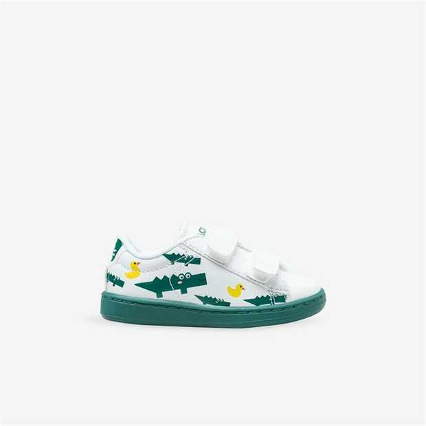 A lace-up silhouette that takes its cue from the tennis court, with statement 'Lacoste Paris' graphic...