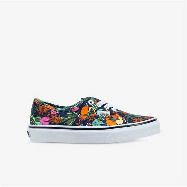 The Kids Multi Tropic Authentic combines the original and now iconic Vans low top style with sturdy...