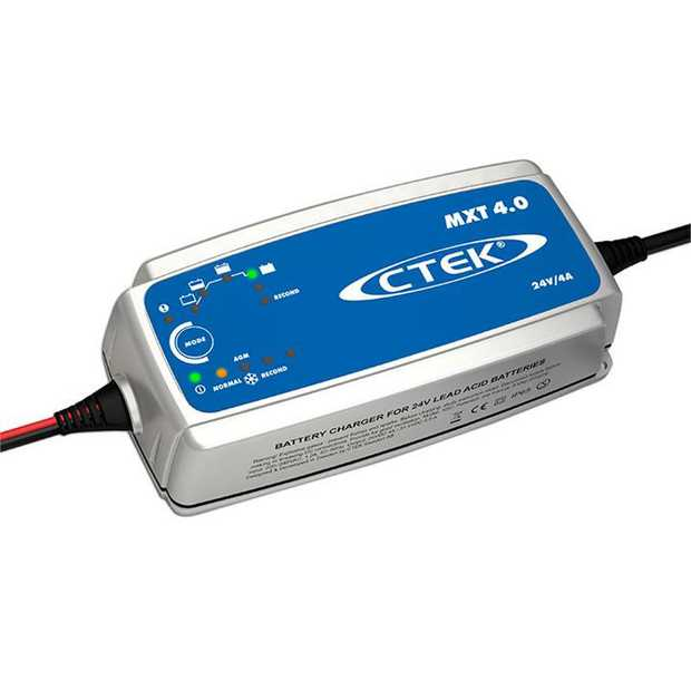 The MXT 4.0 is a cost-effective charger, suitable for smaller 24V batteries. The MXT 4.0 is ideal for...