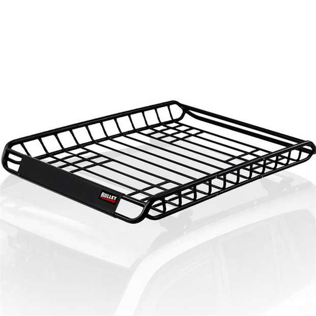 The Bullet CRB-70 Universal Roof RackBasket is an easy-to-use and versatile accessory that...