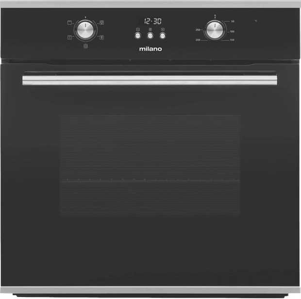 * 65 Litre capacity* 5 Oven functions* Triple glazed cool touch door* Programmable Digital clock and...