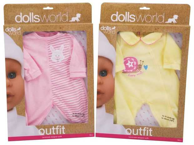 Dolls World Outfit 46Cm Assorted