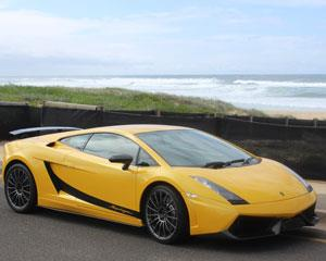 Grab your favourite friend and head for a 1 hour beach cruise around Newcastle in a Lamborghini...