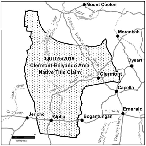 PUBLIC NOTICE   Clermont-Belyando Area Native Title Claim Authorisation Meeting    Members of the...