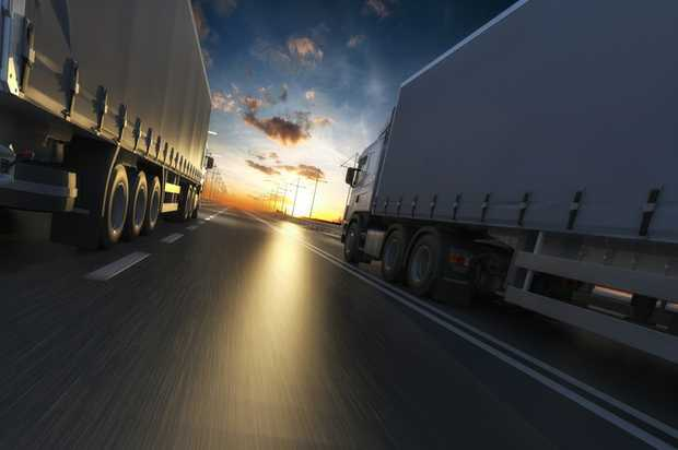 Truck Driving Position  