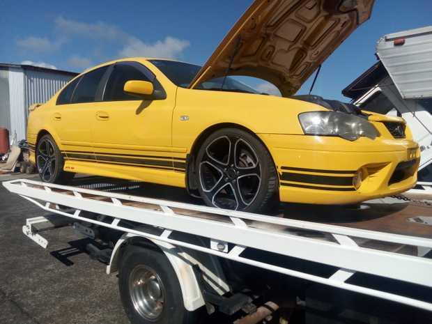 6 speed manual,   170,000 klms,   needs painting   VIN 6FPAAAJGSW5E48205   $5000