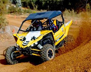 It's time for you to drive Yamaha's latest four-wheel weapon! The Yamaha YXZ1000R. This 100% pure...