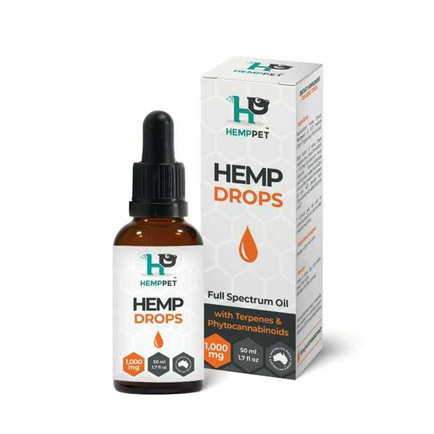 HempPet Hemp Drops for Dogs 50ml is an excellent dietry supplemet for your canine companion. 100%...