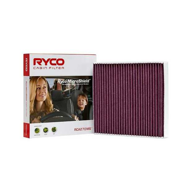 Features and Benefits Incorporates Ryco MicroShield media technology designed and lab tested to filter...