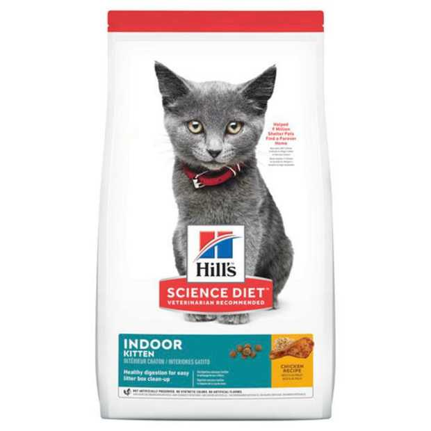 Hill's Science Diet Kitten Indoor Dry Cat Food  is specially formulated to fuel the energy needs of...