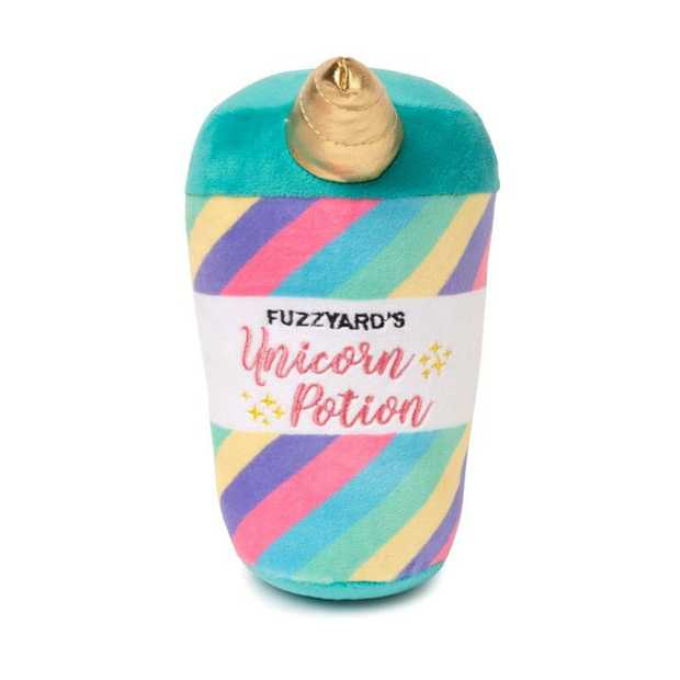 Keep your dog active with the FuzzYard Dog Toy Unicorn Potion. Made from super-soft and non-toxic...