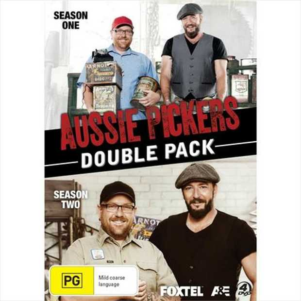 Aussie Pickers Double Pack DVD      SEASON 1 Join Aussie Pickers...