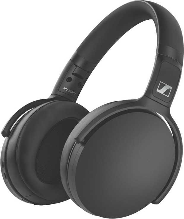 Enjoy great wireless audio on the go or at home with the HD 350BT from Sennheiser. Thanks to Bluetooth...