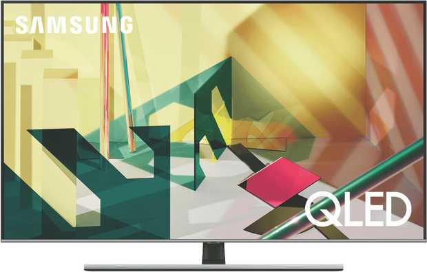Immersive colours and contrast in a variety of lighting conditions through Samsung QLED TV's Quantum...