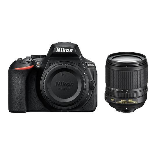 D5600 DSLR body NIKKOR AF-S 18-105mm f/3.5-5.6G VR lens 24.2 Megapixels EXPEED 4 image-processing...