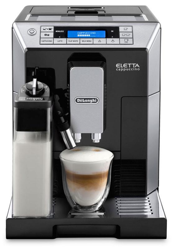 Just one finger operation Patented LatteCrema IFD system Manual frothing capability My Milk function...