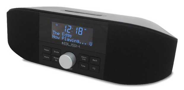 3 Line LCD Display Dimmer Function Dual Alarm with 24/48 hour Option Wake to DAB+/ FM/ Buzzer...