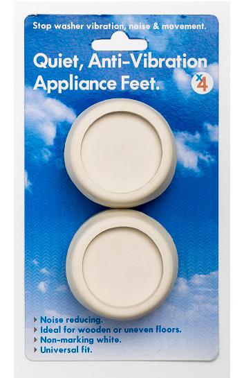 Universal fit for all appliances Non-marking white colour Reduces noise for quieter operation Ideal for...