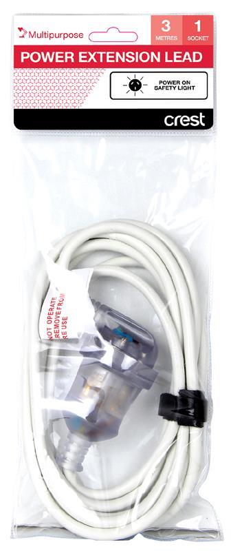 Power On Safety Light Multipurpose 1 Socket
