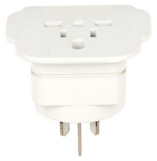 1 socket For use in Australia & New Zealand