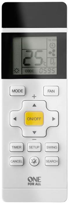 Full Mode operation (5 options) Fan speed adjustability Timer function Backlit LCD screen Easy setup...