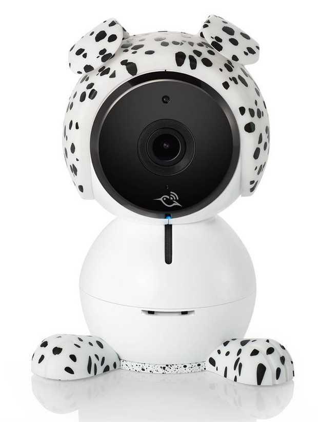 1080p HD Video Night Vision 2-Way Talk Music Player Air Sensors Multi-Colored Night Light Smart Alerts...