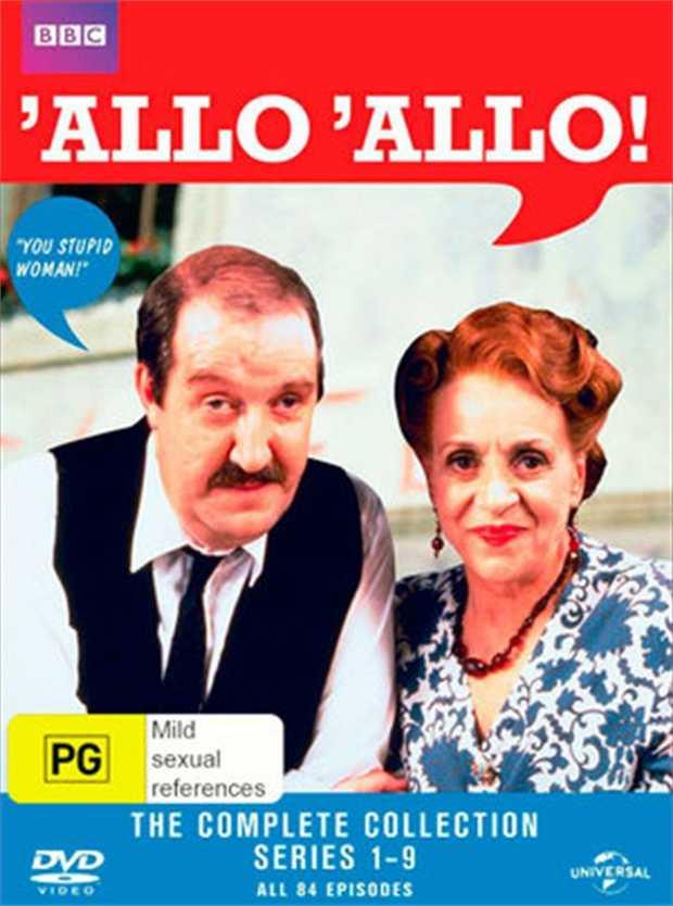 Allo Allo - Season 1 - 9 DVD      Meet Rene, the most wanted man in...