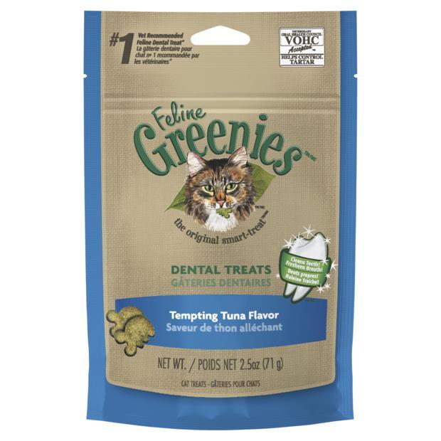 greenies cat dental treats tempting tuna flavour  71g | Greenies cat treat&&litter; | pet supplies|...
