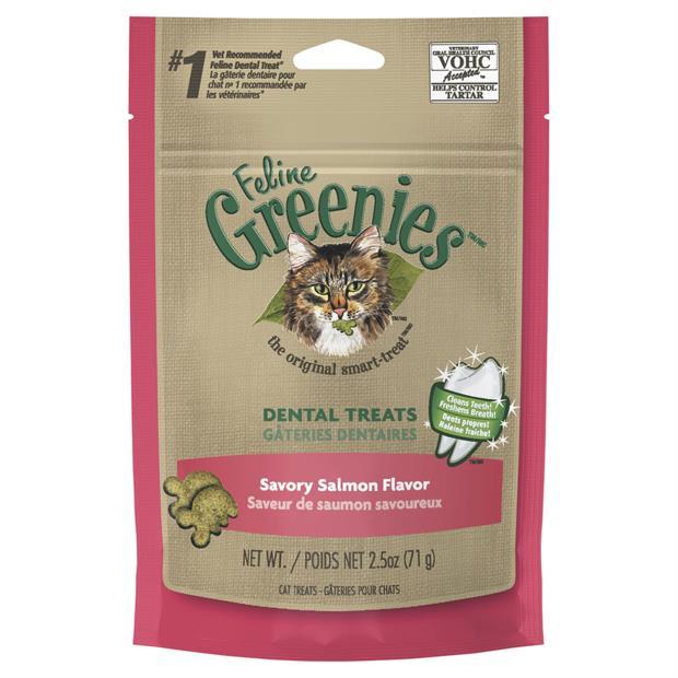 greenies cat dental treats savoury salmon flavour  71g | Greenies cat treat&&litter; | pet supplies|...