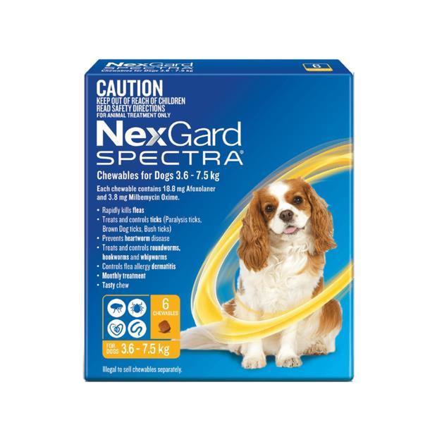 nexgard spectra small dog  12 pack   Nexgard Spectra dog Flea&Tick; Control   pet supplies  Product...