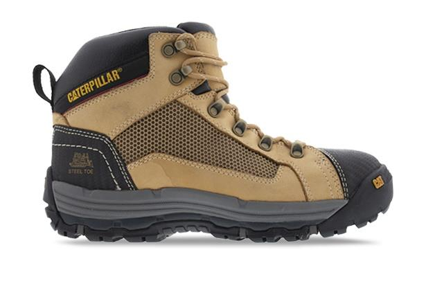 The CONVEX Zip sided work boot with a breathable mesh panel designed to keep you cool and comfortable...