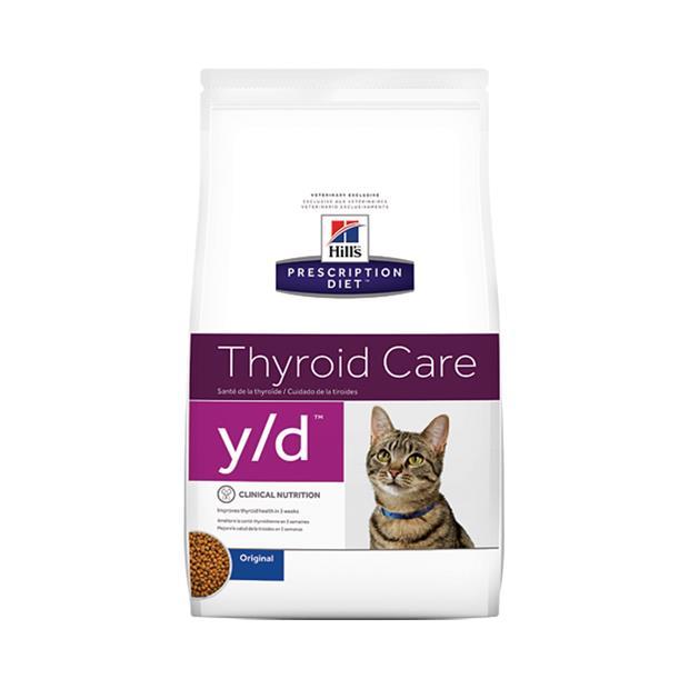 hills prescription diet y/d thyroid care dry cat food  1.8kg | Hills Prescription Diet cat food | pet...