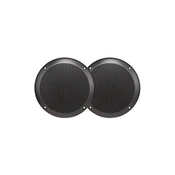 5' (130mm) ULTRA SLIM FULL RANGE SPEAKERS - PAIRSPECIFICATIONS: Waterproof (IP65) UV Stabilised Black...